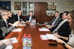 Nuotrauka. Susitikimas su Europos Komisijos Pirmininko pavaduotoju, atsakingu už energetikos sąjungą, Marošu Šefčovičiumi (Maroš Šefčovič). Seimo kanceliarijos (aut. Dž.G.Barysaitė) nuotr.