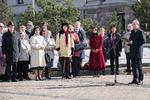 Nuotrauka. Seimo Pirmininkas Viktoras Pranckietis dalyvsvo Taikos vėliavos pakėlimo ceremonijoje, skirtoje Tarptautinei kultūros dienai paminėti. Seimo kanceliarijos (aut. Dž. G. Barysaitė) nuotr.