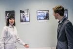 Nuotrauka. Vaikų ir jaunimo fotografijų parodos pristatymas. Seimo kanceliarijos (aut. Dž. G. Barysaitė) nuotr.