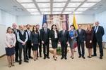 Nuotrauka. Seimo Pirmininko Viktoro Pranckiečio susitikimas su Ukrainos vicepremjere Ivana Klympuš-Tsintsadze .Seimo kanceliarijos (aut. Dž. G. Barysaitė) nuotr.