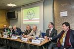 """Nuotrauka. Konferencija """"Čečėnijos Respublika Ičkerija istorijos ir tarptautinės teisės požiūriu"""". Seimo kanceliarijos (aut. Dž. G. Barysaitė) nuotr."""