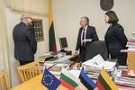 Nuotrauka. Seimo Europos reikalų komiteto posėdis