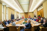 """Nuotrauka. Tarptautinė konferencija """"Kultūra atveria vartus į ateitį"""". Seimo kanceliarijos (aut. Dž. G. Barysaitė) nuotr."""