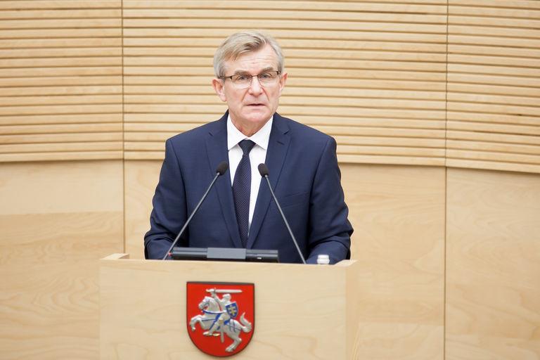 Pirmasis 2016–2020 m. kadencijos Seimo posėdis. Seimo kanceliarijos (aut. O. Posaškova) nuotr.