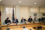Nuotrauka. Europos reikalų <b>komiteto</b> <b>posėdis</b>. Seimo kanceliarijos (aut. Dž. G. Barysaitė) nuotr.