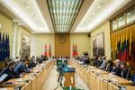 Nuotrauka. Diskusija su Šiaurės šalių investuotojais. Seimo kanceliarijos (aut. O. Posaškova) nuotr.