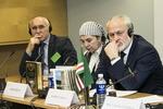"""Nuotrauka. Diskusija """"Čečėnijos Respublika Ičkerija istorijos ir tarptautinės teisės požiūriu"""""""