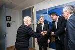 Nuotrauka. Seimo Pirmininko pavaduotoja Irena Degutienė susitiko su Europos Komisijos Pirmininko pavaduotoju, atsakingu už energetikos sąjungą, Marošu Šefčovičiumi. Seimo kanceliarijos (aut. Dž.G.Barysaitė) nuotr.