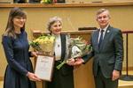 Nuotrauka. Laisvės premijos įteikimo ceremonija. Seimo kanceliarijos (aut. Dž. G. Barysaitė) nuotr.