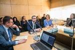 """Nuotrauka. Konferencija """"Tarpdisciplininis požiūris į krizinį nėštumą ir pagalbos sistemą Lietuvoje"""". Seimo kanceliarijos (aut. Dž. G. Barysaitė) nuotr."""