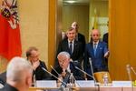Nuotrauka. Seimo Pirmininkas Viktoras Pranckietis dalyvavo Seimo ir Pasaulio lietuvių bendruomenės komisijos posėdyje. Seimo kanceliarijos (aut. O. Posaškova) nuotr.