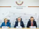 Nuotrauka. LSDP frakcijos spaudos konferencija. Seimo kanceliarijos (aut. O. Posaškova) nuotr.