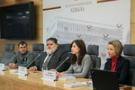 """Nuotrauka. Seimo nario Andriaus Navicko spaudos konferencija """"Priklausomybės iššūkis ir realios pagalbos galimybės"""". Seimo kanceliarijos (aut. Dž. G. Barysaitė) nuotr."""
