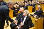 Nuotrauka. Iškilmingas Laisvės gynėjų dienos minėjimas ir Laisvės premijos įteikimo ceremonija. Seimo kanceliarijos (aut. O. Posaškova) nuotr.