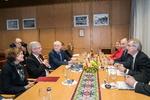 Nuotrauka. Seimo Pirmininko Viktoro Pranckiečio susitikimas su Lenkijos Senato Pirmininku Stanislavu Karčevskiu (Stanisław Karczewski). Seimo kanceliarijos (aut. Dž. G. Barysaitė) nuotr.