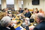 Nuotrauka. Seimo Teisės ir teisėtvarkos <b>komiteto</b> <b>posėdis</b>
