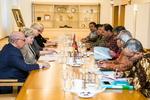 Nuotrauka.  Seimo Pirmininko pavaduotojos Irenos Šiaulienės susitikimas su Indonezijos Respublikos Atstovų Rūmų delegacija. Seimo kanceliarijos (aut. O. Posaškova) nuotr.